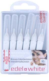 Edel+White Interdental Brushes cepillos interdentales 6 uds