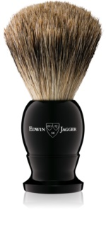 Edwin Jagger Silver Tip Ebony Shaving Brush