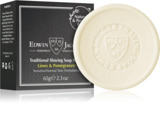 EDWIN JAGGER Limes & Pomegranate jabón de afeitar Recambio