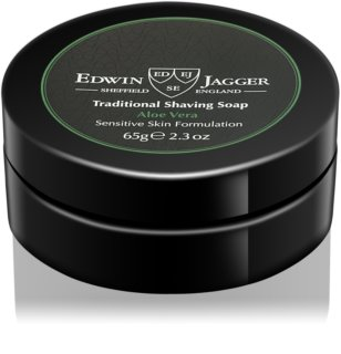EDWIN JAGGER Aloe Vera savon de rasage pour peaux sensibles