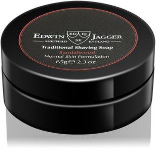 Edwin Jagger Sandalwood jabón de afeitar para pieles normales