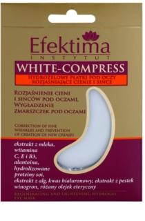Efektima Institut White-Compress гідрогелева маска для шкіри навколо очей проти зморшок та темних кіл
