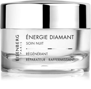 Eisenberg Excellence noćna krema za regeneraciju protiv bora s dijamantnim praškom