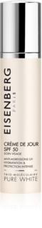 Eisenberg Pure White hydratisierende und schützende Tagescreme SPF 50+