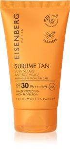 Eisenberg Sublime Tan krema za sunčanje za lice s učinkom protiv bora SPF 30