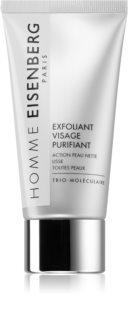 Eisenberg Homme Exfoliant Visage Purifiant Rengörande gel-skrubb  Med mikropärlor
