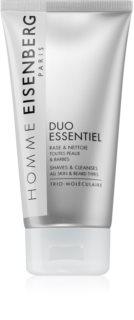 Eisenberg Homme Duo Essentiel gel za britje in čistilni gel 2 v 1