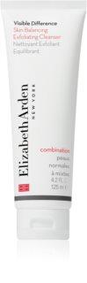 Elizabeth Arden Visible Difference Skin Balancing Exfoliating Cleanser αφρώδης απολέπιση για κανονική έως μικτή επιδερμίδα