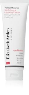 Elizabeth Arden Visible Difference Skin Balancing Exfoliating Cleanser пилинг-пяна за нормална към смесена кожа