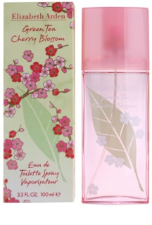 Elizabeth Arden Green Tea Cherry Blossom Eau de Toilette für Damen 100 ml