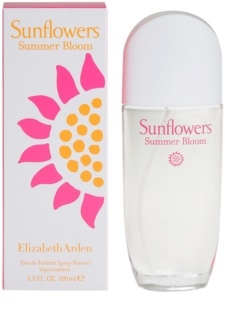 Elizabeth Arden Sunflowers Summer Bloom Eau de Toilette para mulheres 100 ml