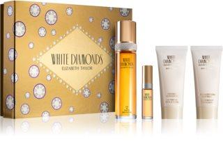 Elizabeth Taylor White Diamonds σετ δώρου III. για γυναίκες