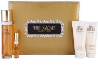 Elizabeth Taylor White Diamonds подаръчен комплект II.