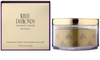 Elizabeth Taylor White Diamonds Körperpuder für Damen 150 g