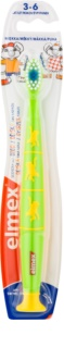 Elmex Kids 3-6 Years Kids' Toothbrush with Suction Cup