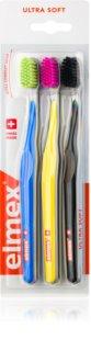Elmex Swiss Made szczoteczki do zębów 3 szt. ultra soft
