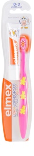Elmex Caries Protection Soft Toothbrush for Kids + Mini Toothpaste