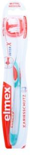Elmex Caries Protection szczoteczka do zębów z krótką główką medium