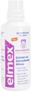 Elmex Erosion Protection Mundwasser schützt den Zahnschmelz