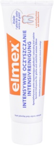 Elmex Intensive Cleaning dentífrico para dentes lisos e brancos