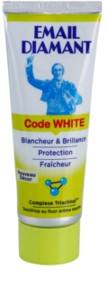 Email Diamant Code White bleichende Zahnpasta