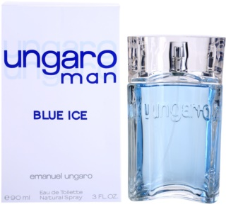 Emanuel Ungaro Man Blue Ice Eau de Toilette for Men 90 ml
