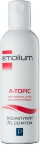 Emolium Wash & Bath P Gentle Cleansing Gel with Triple Effect
