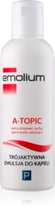 Emolium Body Care A- topic Bath Emulsion with Triple Effect