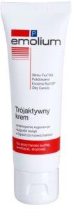 Emolium Skin Care P krema za obraz s trojnim učinkom