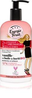 Energie Fruit Vanilla  masker 2 in 1 voor Gekleurd Haar