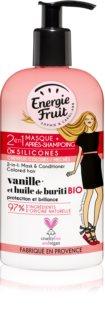 Energie Fruit Vanilla  μάσκα 2 σε 1 για βαμμένα μαλλιά