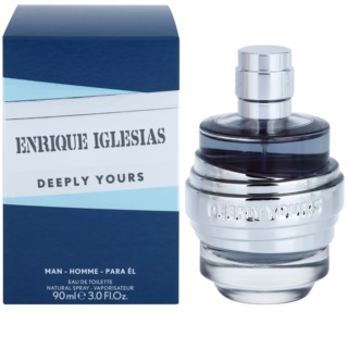 Enrique Iglesias Deeply Yours eau de toilette per uomo 90 ml