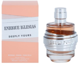 Enrique Iglesias Deeply Yours eau de toilette da donna 90 ml