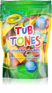 EP Line Crayola Tub Tones compresse frizzanti colorate da bagno