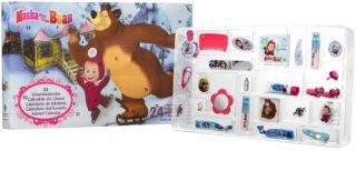 EP Line Masha and The Bear calendário do Advento para crianças
