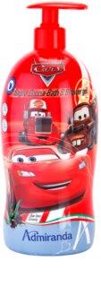 EP Line Cars 2 habfürdő és tusfürdő gél 2 in 1 gyermekeknek