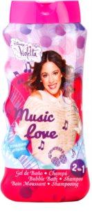 EP Line Disney Violetta pena za kopel in gel za prhanje 2v1