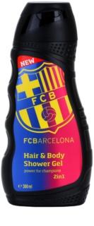 EP Line FC Barcelona sprchový gel a šampon 2 v 1