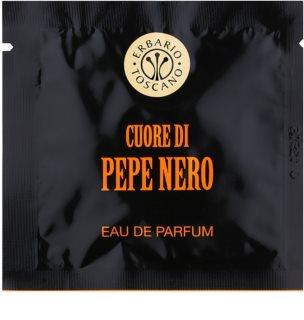 Erbario Toscano Black Pepper Perfumed Towels for Men 7 kpl