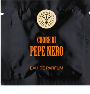 Erbario Toscano Black Pepper parfumirani robčki za moške 7 kos
