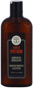 Erbario Toscano Black Pepper poživitveni gel za prhanje
