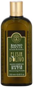 Erbario Toscano Elisir D'Olivo żel do kąpieli i pod prysznic o dzłałaniu nawilżającym