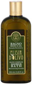Erbario Toscano Elisir D'Olivo Dusch- und Badgel mit feuchtigkeitsspendender Wirkung