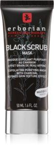 Erborian Black Scrub Mask exfoliërend reinigend gezichtsmasker