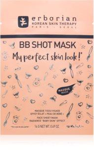 Erborian BB Shot Mask maseczka płócienna o działaniu rozjaśniającym