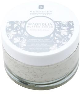 Erborian Magnolia tělový peeling s vyživujícím účinkem