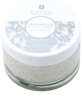 Erborian Magnolia Body Peeling  met Voedende Werking