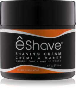 eShave Orange Sandalwood crème à raser