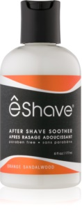 eShave Orange Sandalwood baume apaisant après-rasage