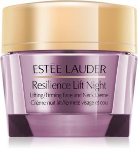 Estée Lauder Resilience Lift Night éjszakai liftinges kisimító krém az arcra és a nyakra